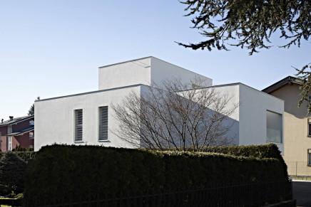 Casa Bernardi, Pergine. Arch Burnazzi Feltrin. Dal sito:http://www.arketipomagazine.it. Foto: Carlo Baroni